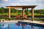 corner pergola-pool-country estate-luxury furniture
