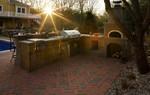 outdoor kitchen- pizza oven