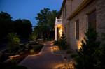 landscape lighting-pavers-dusk lighting