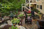 waterfall-paver patio