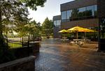 Commercial paver patio