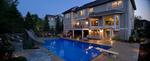 twilight pool photo