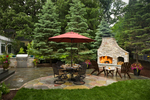 Grilling kitchen/fireplace