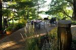 lake view patio/bubbler