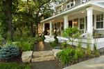 Inner city home/hardscape/natural plantings
