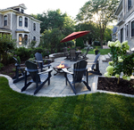 City side yard remodel/patio