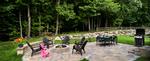 Backyard family patio/fire pit