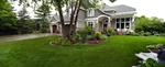 Front yard center garden