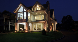 Luxury home lake Minnetonka