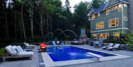 dusk/pool